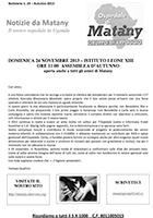 Notiziario 23 - autunno 2013