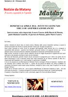 Notiziario 24 - primavera 2014