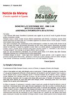 Notiziario 27 - autunno 2015